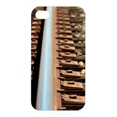 Train Track Apple Iphone 4/4s Hardshell Case by hlehnerer