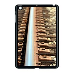 Train Track Apple Ipad Mini Case (black) by hlehnerer