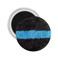 Black Blue Lawn 2 25  Button Magnet by hlehnerer
