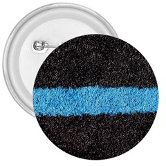 Black Blue Lawn 3  Button by hlehnerer