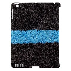 Black Blue Lawn Apple Ipad 3/4 Hardshell Case (compatible With Smart Cover)
