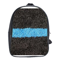 Black Blue Lawn School Bag (xl)