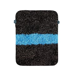 Black Blue Lawn Apple Ipad 2/3/4 Protective Soft Case by hlehnerer