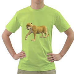 Leopard 2 Mens  T Shirt (green)