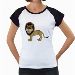 Lion 1 Women s Cap Sleeve T Shirt (white) by gatterwe