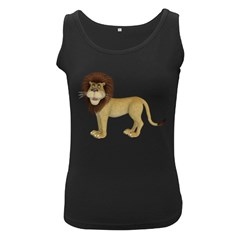 Lion 1 Womens  Tank Top (black)