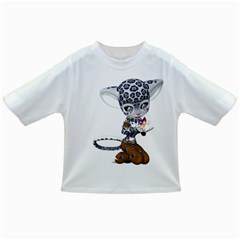 Native Snow Leopard 1 Baby T Shirt by gatterwe