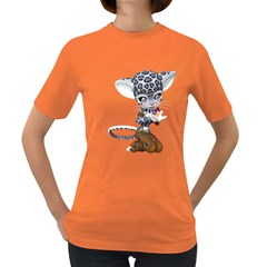 Native Snow Leopard 1 Womens' T-shirt (colored)