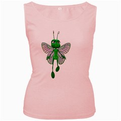 Fly 3 Womens  Tank Top (pink) by gatterwe