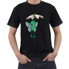 Fly 4 Mens' Two Sided T Shirt (black)