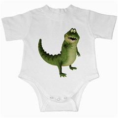 Toon Croco Infant Creeper by gatterwe