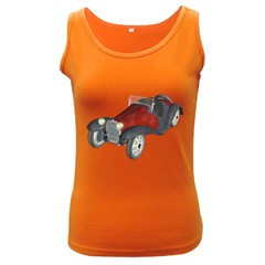 Old Timer Womens  Tank Top (dark Colored)