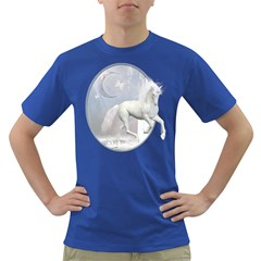 White Unicorn 1 Mens' T Shirt (colored) by gatterwe