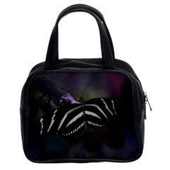 Butterfly 059 001 Classic Handbag (two Sides) by pictureperfectphotography