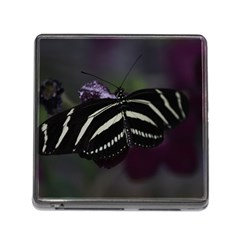 Butterfly 059 001 Memory Card Reader With Storage (square) by pictureperfectphotography