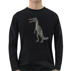 Suchomimus 2 Mens' Long Sleeve T Shirt (dark Colored) by gatterwe