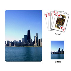 Chicago Skyline Playing Cards Single Design