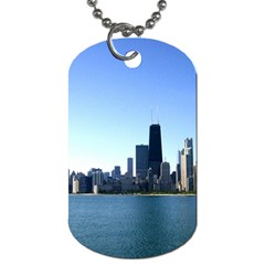 Chicago Skyline Dog Tag (One Sided)