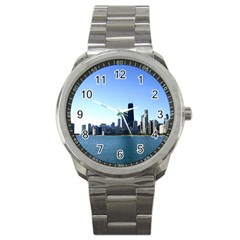 Chicago Skyline Sport Metal Watch
