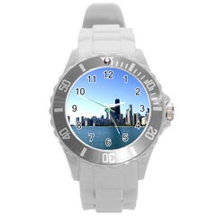 Chicago Skyline Plastic Sport Watch (Large)