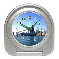 Chicago Skyline Desk Alarm Clock