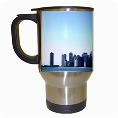Chicago Skyline Travel Mug (White)