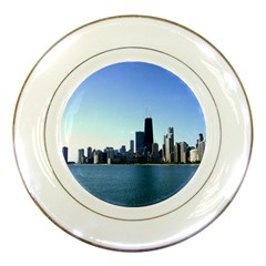 Chicago Skyline Porcelain Display Plate