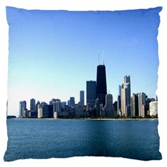 Chicago Skyline Large Cushion Case (One Side)