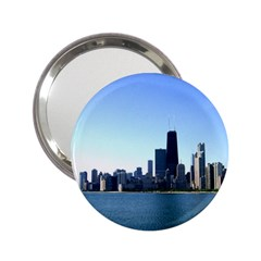 Chicago Skyline Handbag Mirror (2.25 )