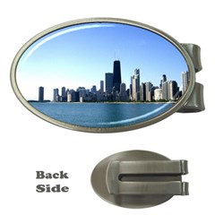 Chicago Skyline Money Clip (Oval)