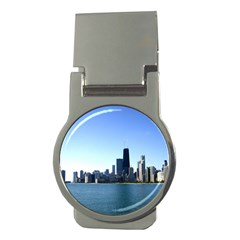 Chicago Skyline Money Clip (Round)
