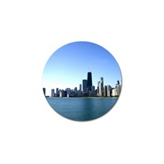 Chicago Skyline Golf Ball Marker 10 Pack by canvasngiftshop