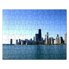 Chicago Skyline Jigsaw Puzzle (Rectangle)