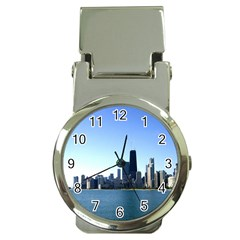 Chicago Skyline Money Clip with Watch