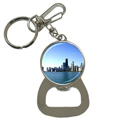 Chicago Skyline Bottle Opener Key Chain by canvasngiftshop