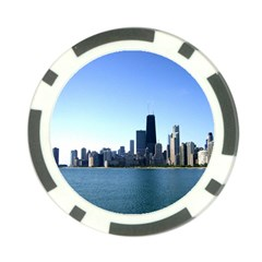 Chicago Skyline Poker Chip 10 Pack