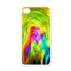 Painted Forrest Apple Iphone 4 Case (white)