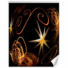 Light s And Star s Canvas 18  X 24  (unframed) by designsbyvee