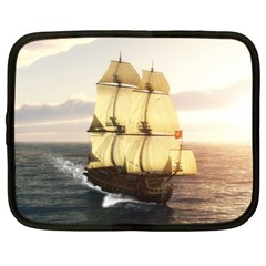 French Warship Netbook Case (xl)