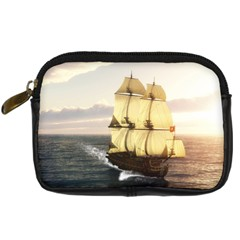 French Warship Digital Camera Leather Case