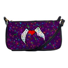 Your Heart Has Wings So Fly   Updated Evening Bag by KurisutsuresRandoms
