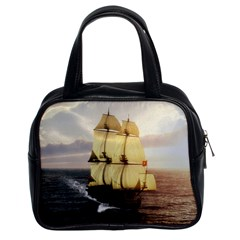French Warship Classic Handbag (two Sides)