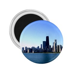 Chicago Skyline 2.25  Button Magnet