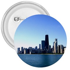Chicago Skyline 3  Button