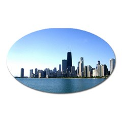 Chicago Skyline Magnet (Oval)