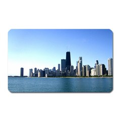 Chicago Skyline Magnet (Rectangular)