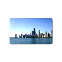Chicago Skyline Magnet (Name Card)