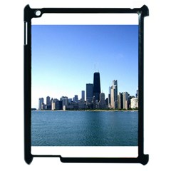 Chicago Skyline Apple iPad 2 Case (Black)