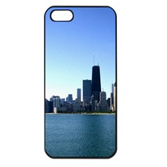 Chicago Skyline Apple iPhone 5 Seamless Case (Black)