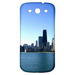 Chicago Skyline Samsung Galaxy S3 S Iii Classic Hardshell Back Case by canvasngiftshop